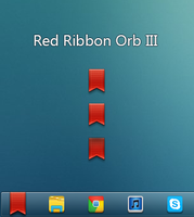 Red Ribbon Orb III by Lil-James