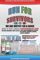 Official Poster for Run for Survivors by MaverickGraphics