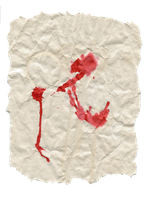 Old bloody paper by Zelir