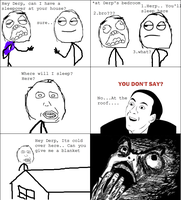 Sleepover -Rage Comic- by Albowtross91