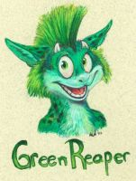 Conbadge: GreenReaper by vantid