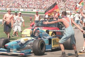 Michael Schumacher (Germany 1995) by F1-history