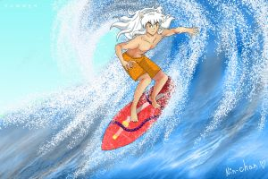 Surfing by nin--chan