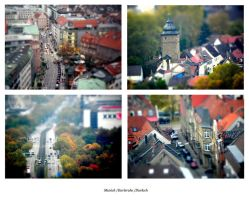 photos with tiltshift-effect by Izaskun