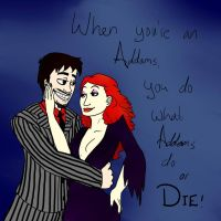 TGWTG When You're an Addams by jluvswicked