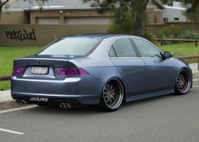 Tuned Honda Accord Euro by Razwud