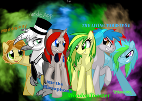 The Bronies that I Listen To... by Faith-Wolff