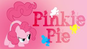 Pinkie Pie Added Name WP by Hufflepuff-Disney