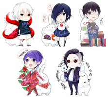 TOKYO GHOUL CHARMS by A1SU