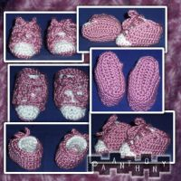 Lincoln Baby Booties by A--Anthony