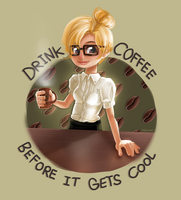 Coffee is Cool by miesmud