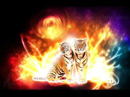 Tigers by Andenne