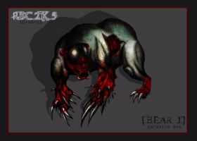 mitochondria mutated bear by F13ND-001