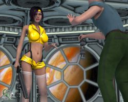 Faye Valentine Collects by chimera46