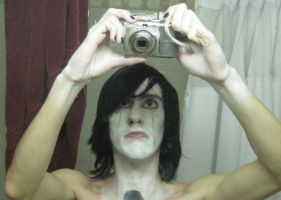 Ulquiorra Makeup Random Pic by Shad0wKillr