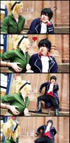 Blood lad - Hydrabell and Staz by Kaitolicious