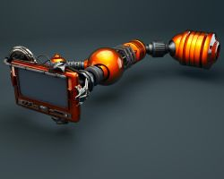 Screen Arm C4D by TonyHarris