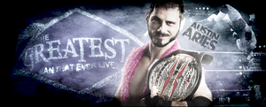 Austin Aries TNA Wrestler by dottedmug
