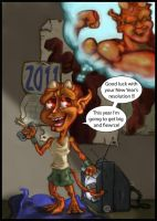 A monster New Year resolution by JMarcDodsonJr