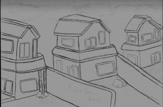 Houses by Loneiceicle