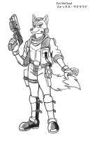 Starfox-Fox McCloud by MDTartist83