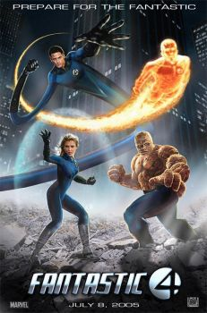 Fantastic 4 Movie Poster by wobblyone