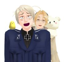 MMD - Prussia's Epic Face by Pencil13