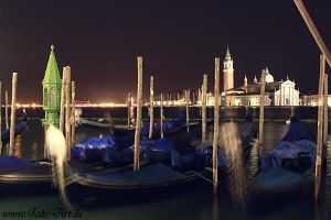 Venice Nocturnal Lagoon by NataliaLeFay
