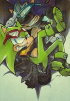 Scourge the Hedgehog by Mitsuki-Chizu