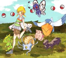Pokemon : Travelling 1 by Chenille-Cerise