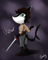 Chibi Victor [Art Trade] by The-B-Meister