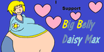 I Support Big Belly Daisy Max by MarioBlade64