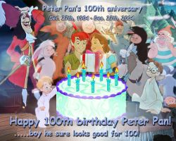 Peter Pan aniversary by lisardo