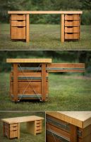 Desk by sbv20