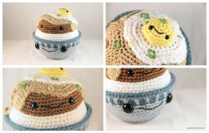 Amigurumi Loco Moco by pocket-sushi