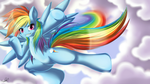 Rainbow Dash - My Little Pony Friendship is Magic by KnifeH