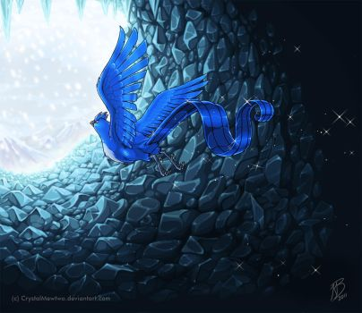 Cave of Frozen Stones by FoolishLittleMortal