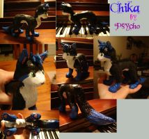 Chika Sculpture by PsychicPsycho