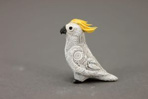 Tiny cockatoo totem by hontor