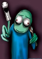 Salad Fingers by elleprimadonna