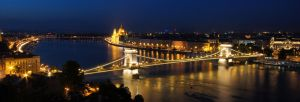 Budapest Danube Bend by PetydeNecro