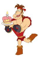 Dave the Barbarian by silveramysaurus07