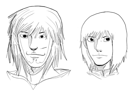 Older Raseph and Current Raseph (Conceptual) by Akaraah