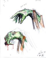 Zombie hands by 80sninja