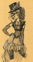 VictorianLady02 by Pharoahess