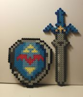 Master Sword and Shield by SK-Studios