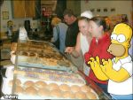 Homer Loves Donuts by skykery