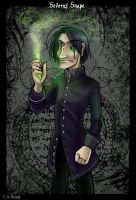 HP: Severus Snape by Bilious