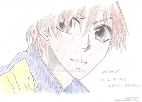 colored usui by bluepixie-jin