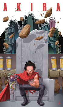 Tetsuo Unleashed by sketchpimp